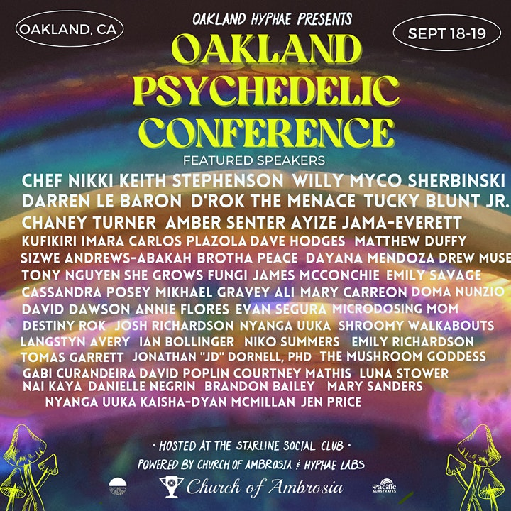 Oakland Psychedelic Conference image