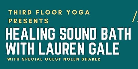September Sound Bath at Third Floor Yoga tickets
