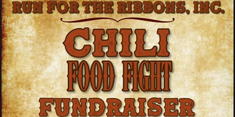 """Run for the Ribbons 1st Annual """"Food Fight"""" - Chili Cook-off tickets"""