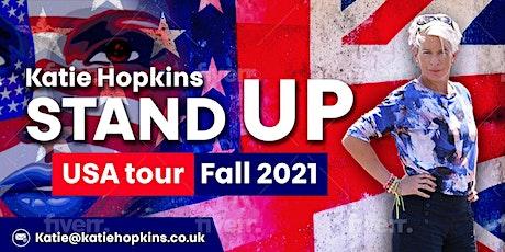 Katie Hopkins: Stand UP! - ONLINE tickets