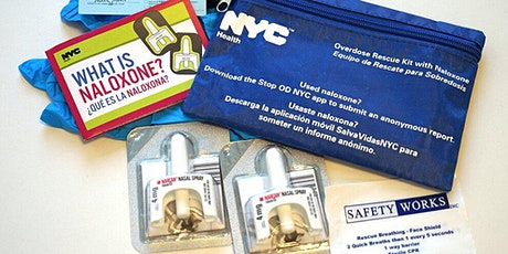 Overdose Prevention and Naloxone Training tickets