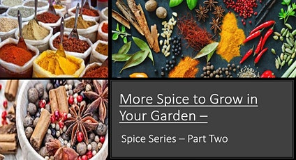 More Spice to Grow in Your Garden - Part 2 tickets