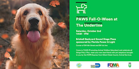 PAWS Fall-O-Ween at The Underline tickets