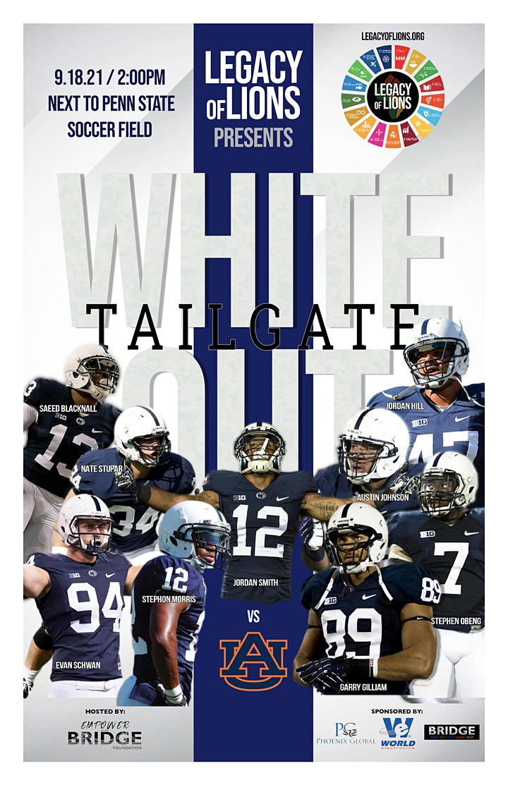 Legacy of Lions  Whiteout Tailgate Fundraiser - TAILGATE WITH THE LEGENDS image