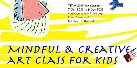 Creative art class for children tickets