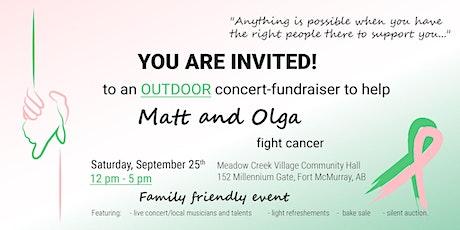 Outdoor Concert-Fundraiser for Matt and Olga tickets