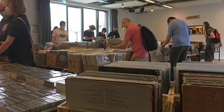Die 12. Barmbeker CD- & Schallplattenbörse Hamburg Zinnschmelze Tickets