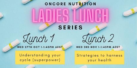 Ladies Lunch Series tickets