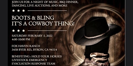 Boots & Bling, It's A Cowboy Thing! tickets