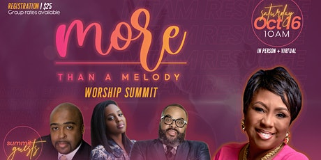 More Than A Melody Worship Summit 2021 tickets