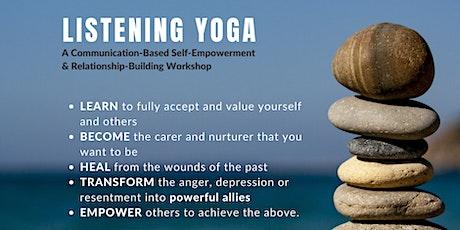 Listening Yoga Workshop tickets