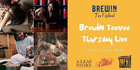 BrewIN Live TeaVee featuring Australian tea professionals! tickets