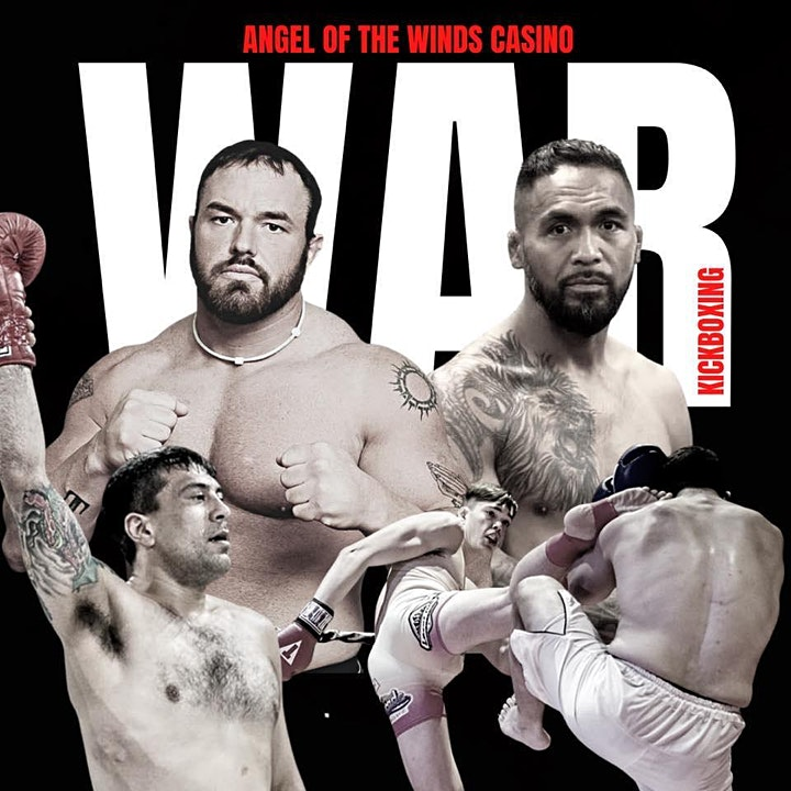 WAR KICKBOXING RETURNS TO THE ANGEL OF THE WINDS CASINO image