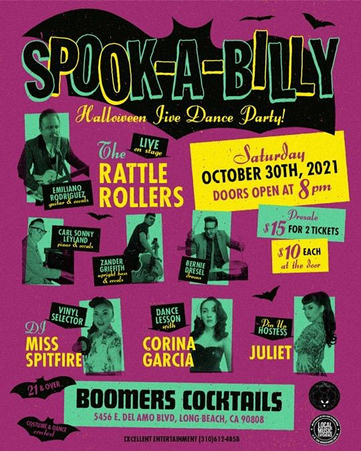 SPOOK-A-BILLY Halloween Jive Dance Party image