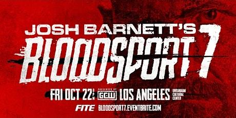 GCW presents Josh Barnett's BLOODSPORT 7 tickets
