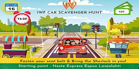 IWF Car Scavenger Hunt tickets