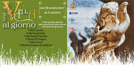 Una Villa Al Giorno - Villa Luxoro biglietti