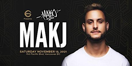 MAKJ tickets