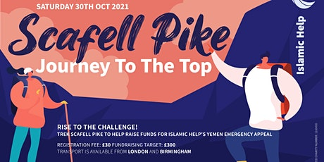 Scafell Pike - Journey to the top tickets