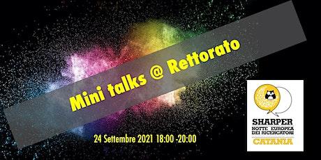Catania Sharper Night  2021: Mini-Talk @  Rettorato biglietti