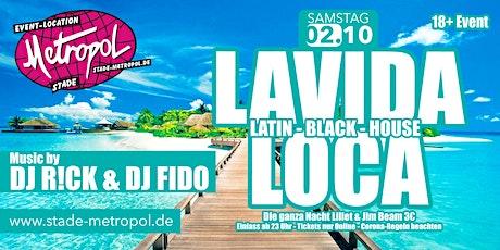 Lavida Loca| Latin - Black - House Party | Metropol Tickets