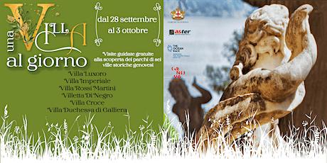 Una Villa Al Giorno - Villa Croce biglietti