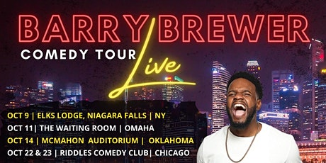 Barry Brewer Comedy Tour tickets