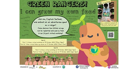 Green Rangers!: I Can Grow My Own Food! tickets