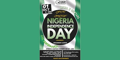 CATCH CRUISE * NIGERIA INDEPENDENCE DAY * PARTY tickets