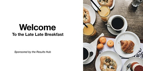 The Late Late Breakfast Live.  Book today and get the confidence to achieve tickets