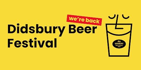 Didsbury Beer Festival 2021 tickets