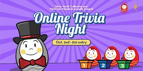Online Trivia Night tickets