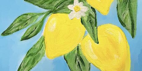Paint Party Workshop - lemons tickets