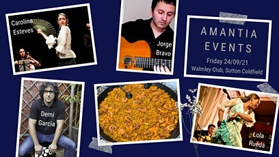 Spanish 3 Course Dinner with Flamenco Show tickets