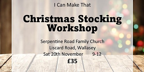 Christmas Stocking Workshop tickets