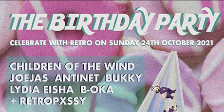 The Birthday Party - retropxssy + friends tickets