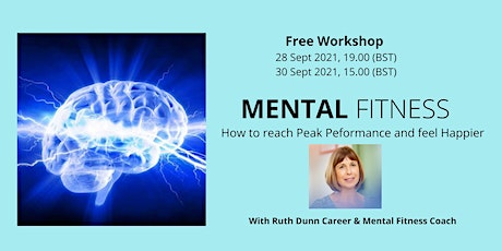 FREE Workshop: How to reach Peak Performance and feel Happier tickets