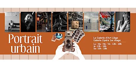 """Invitation au vernissage de l'exposition photo """"Portraits Urbains"""" billets"""