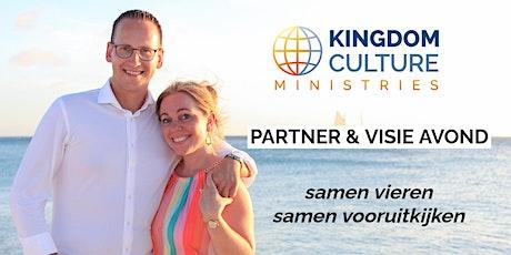 Partner & Visie avond Kingdom Culture Ministries tickets