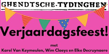 Verjaardagsfeest Ghendtsche Tydinghen tickets
