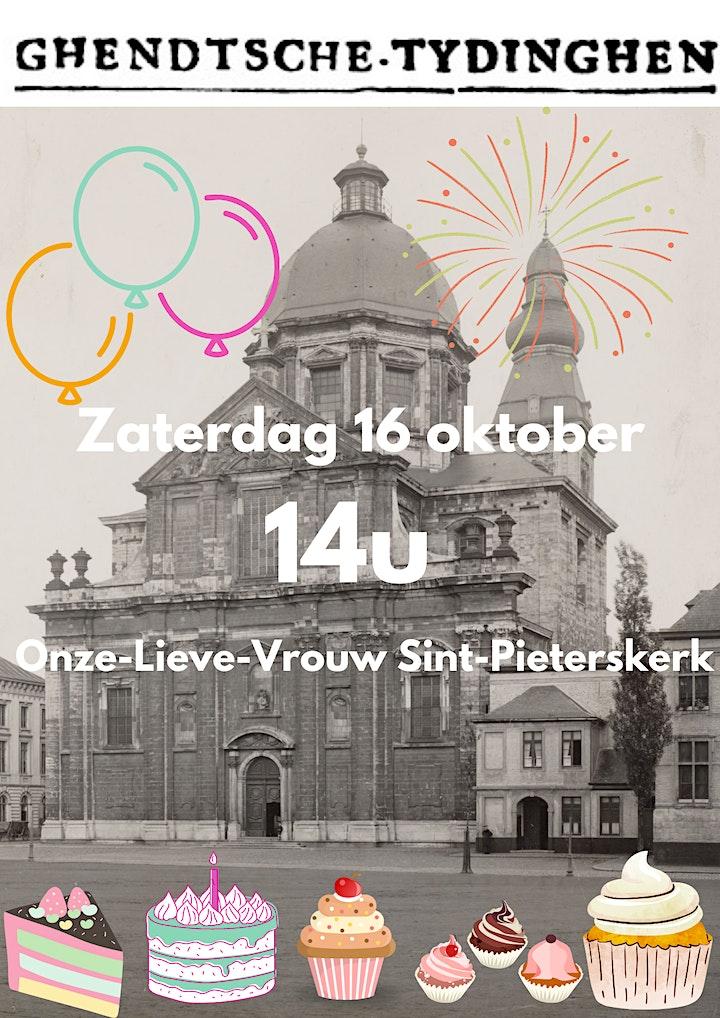 Afbeelding van Verjaardagsfeest Ghendtsche Tydinghen