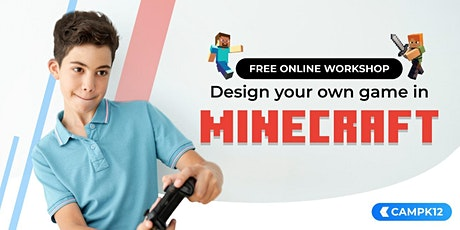 Design Your Own Minecraft Game tickets
