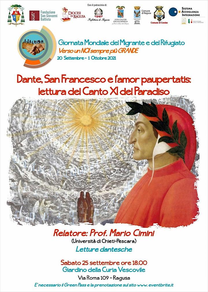 Immagine Dante,San Francesco e l'amor paupertatis