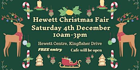 Hewett Community Market Christmas Fair tickets
