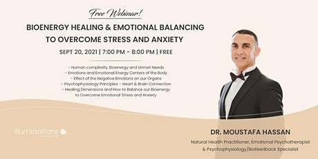 Bioenergy Healing & Emotional Balancing To Overcome Stress And Anxiety tickets