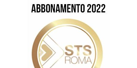 STS ROMA 2022 Abbonamento singolo  | 12 Weekend di Formazione BUSINESS biglietti