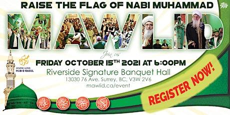 2021 Grand Mawlid Nabi and Super Ziarat tickets