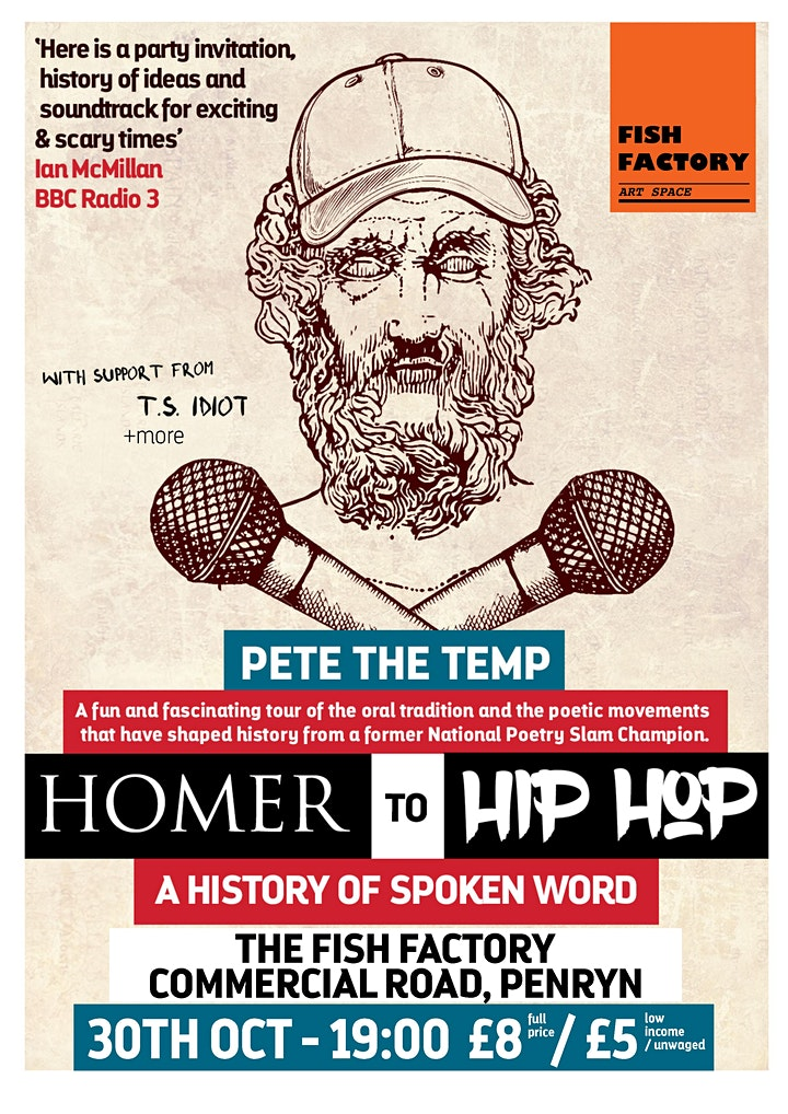 Homer to Hip Hop: Pete the Temp ft T.S. Idiot image