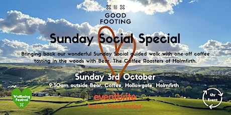 Sunday Social Special - Wellbeing Festival tickets
