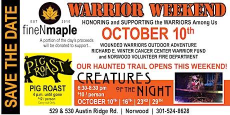 Warrior Weekend tickets